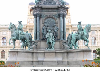 Empress Maria Theresia monument in Vienna City, Austria
