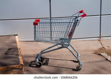 empty abandoned cart