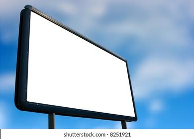 Empty advertisement board, add your own tex!