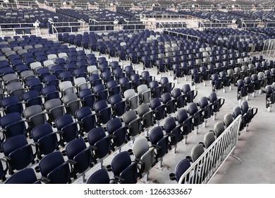 Empty Amphitheater Venue Seats