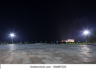 empty background at night