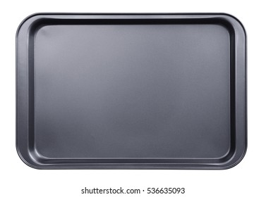 Empty baking tray