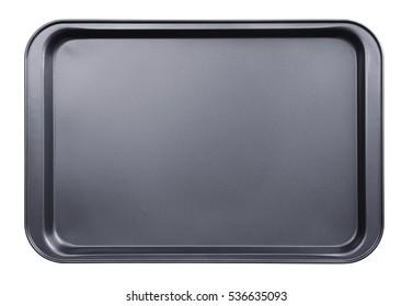 Empty baking tray