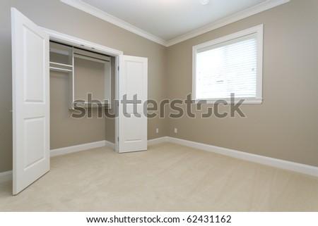 Empty Bedroom Empty Closet Stock Photo Edit Now 62431162