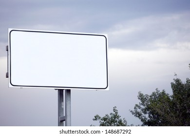 empty billboard in the sity for your ad