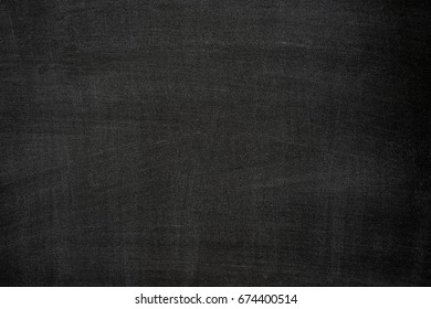 empty black chalk board background - can use to display or montage on product
