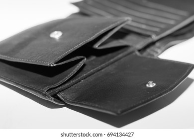 Empty black pocket