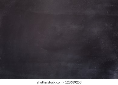 Empty Blackboard Background. Macro shot.