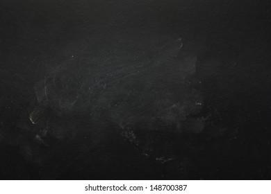 Empty Blackboard Background. Macro shot