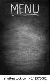 Empty blackboard, suitable for restaurant menu