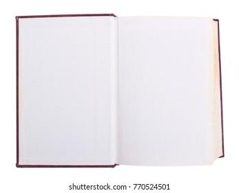 Empty Blank Book