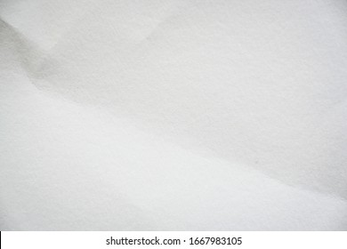 empty blank white paper texture with crease pattern surface used for page background
