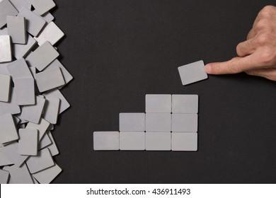 empty blocks and finger