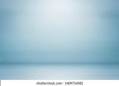 Empty blue white studio backdrop abstract gradient grey background vintage color design used us montage or display your products design