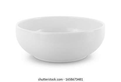 empty bowl isolated on white background