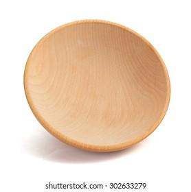empty bowl isolated on white background