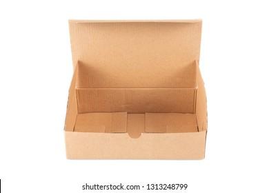 empty box carton box open parcel