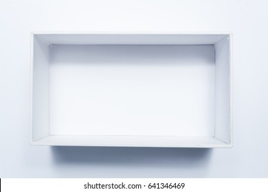 Empty box for product