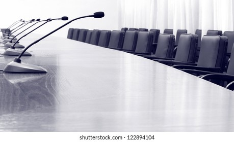 Empty business , conference hall