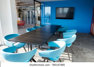 Empty business meeting room in an office