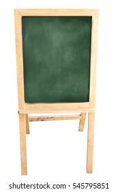 Empty Chalk board Background/Blank.Blackboard Background.Blackboard texture. empty black school Board.