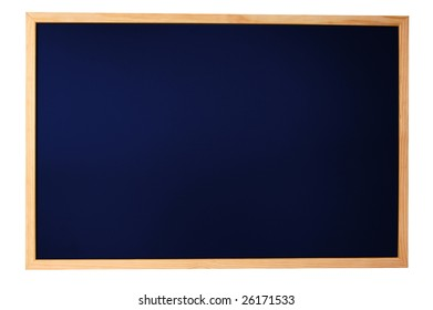 empty chalkboard with space for a text message