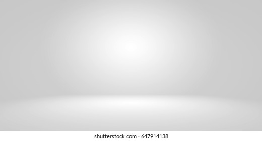 Empty Circular Dark Grey gradient with Black solid vignette lighting Studio wall and floor background well use as backdrop. Background empty room with space for your text and picture.