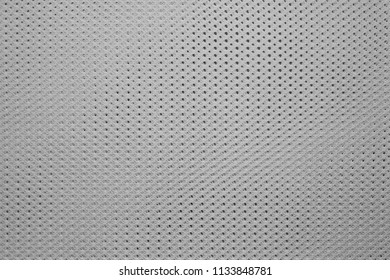 empty and clean background or wallpaper with abstract texture of fabric or textile material of gray color a closeup