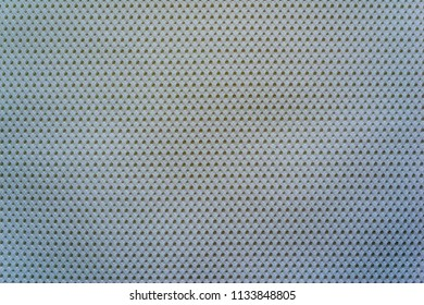 empty and clean background or wallpaper with abstract mesh texture of fabric or textile material a closeup of pale blue color