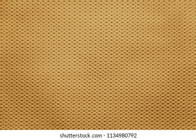 empty and clean background or wallpaper with abstract mesh texture of fabric or textile material a closeup of yellow color