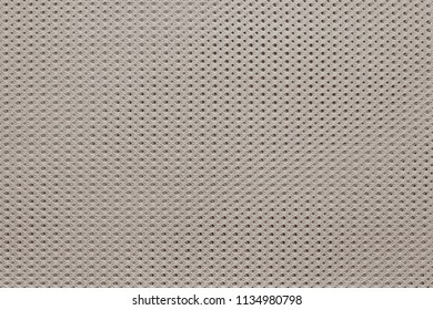 empty and clean background or wallpaper with abstract texture of fabric or textile material of beige color a closeup