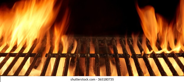 Flaming Grill Stock Images, Royalty-Free Images & Vectors