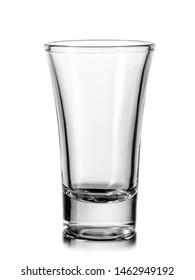 Empty cocktail shot, close up