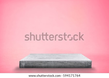 Empty concrete table top template mock stock photo edit now empty concrete table top template mock up for display of your product maxwellsz