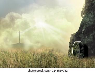 The Empty Cross and the Empty Tomb of Jesus