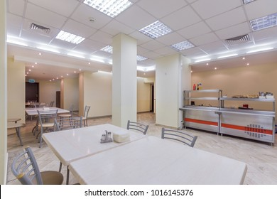 Empty Dining room in the office center or university