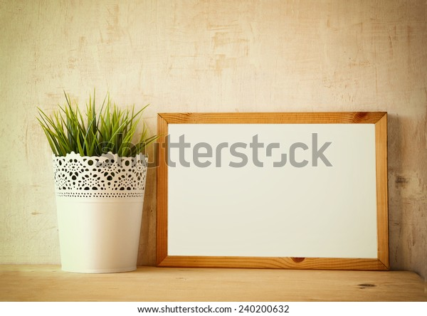 Empty Drawing Board Room Text Over Stock Photo (Edit Now