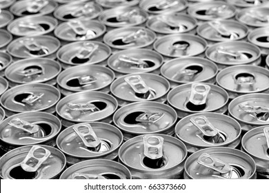 empty energy drink cans as very nice background