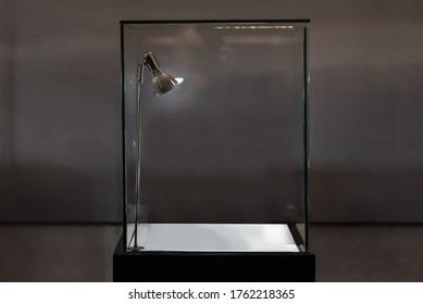 empty fine window showcase display
