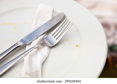 Empty Food Plate