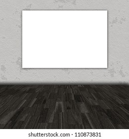 empty gallery background
