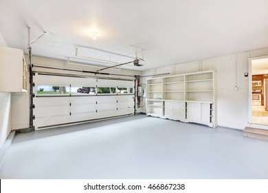 garage inside. Modren Inside Empty Garage Interior In American House Northwest USA Intended Garage Inside E