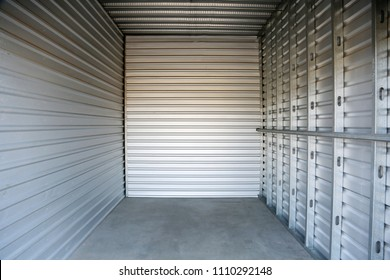 Empty garage or storage unit