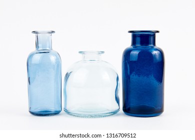 empty glass vials for the storage of liquids oils and elixirs