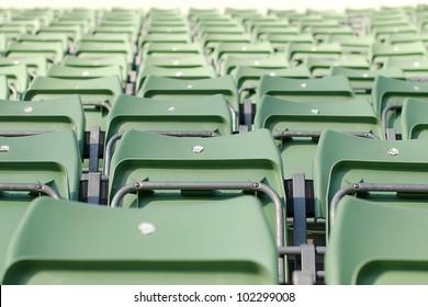 Empty Grandstand