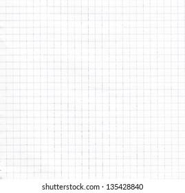 Empty graph grid scale paper
