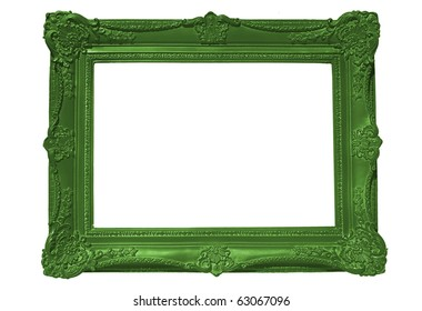 Empty Green Frame