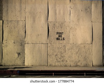 Empty grunge old white plywood wall texture background