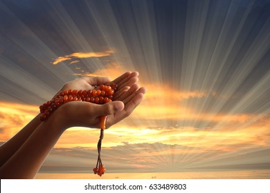 Muslim Prayer Hands Images, Stock Photos & Vectors