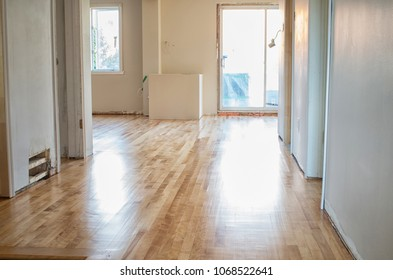 Empty house during renovation